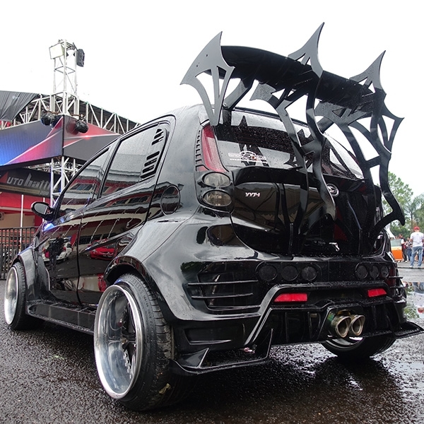 Sirion Street Racing Bersayap Jadi King of Black Purwokerto