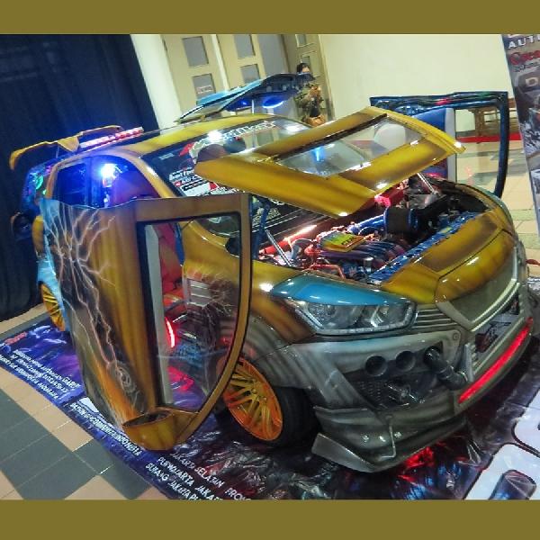 Modifikasi Datsun GO Tampil Maksimal Dengan Konsep Robotik