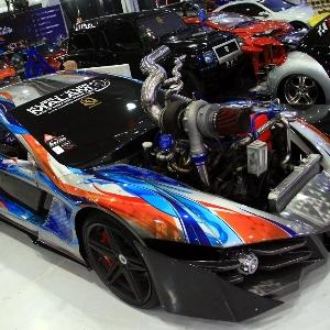 Cara Ekstrim Bikin Suzuki Escudo Jadi Mobil Futuristik