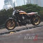 Modifikasi Harley Davidson Sportster - Scrambler Bad Boy
