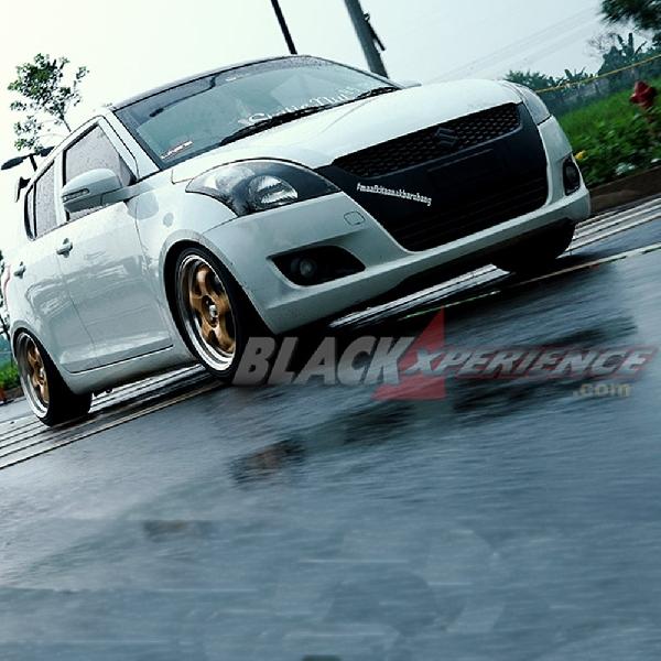 Modifikasi Suzuki Swift A/T: Mempermanis Bagian Interior
