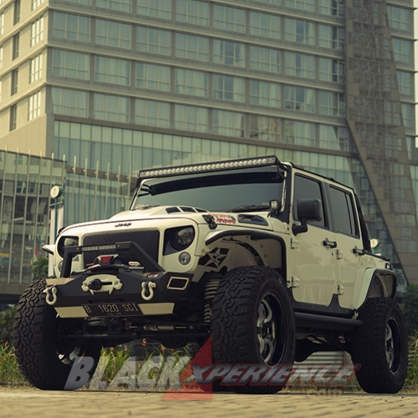 Modifikasi Jeep Wrangler: Raptor Armour