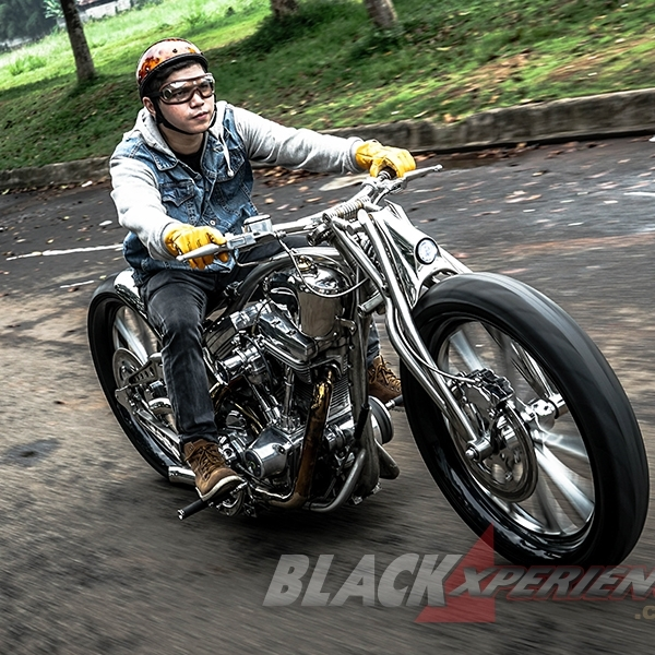 Modifikasi Harley Davidson Sportster: The Stone Krom Works