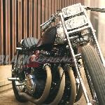 Modifikasi Honda CB650 The Luxurious Chopper Drag