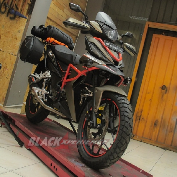 Modifikasi Honda All New Supra GTR150 Enduro Small Bike