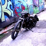Modifikasi Yamaha Scorpio: Old School Chopper