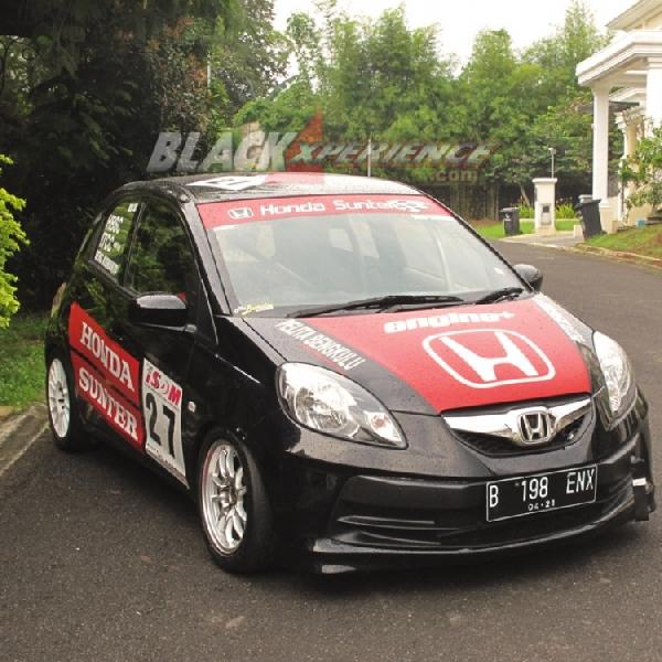 Modifikasi Honda Brio Satya, Terinspirasi dari Balap