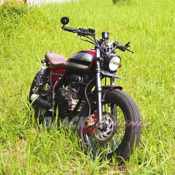 Street Art Custom Vermak Yamaha Scorpio jadi Japs Stlye