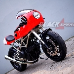 Modifikasi Ducati Monster 620: The Monster Vintage Racer