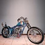 Modifikasi Yamaha Scorpio - The Blue Pon Chopper