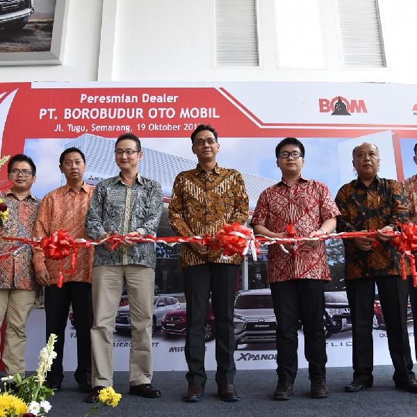 Mitsubishi Resmikan Jaringan Baru di Semarang