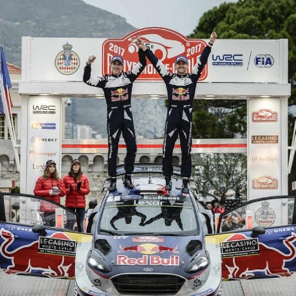 WRC: Sebastian Ogier Juara WRC Monte Carlo 2017