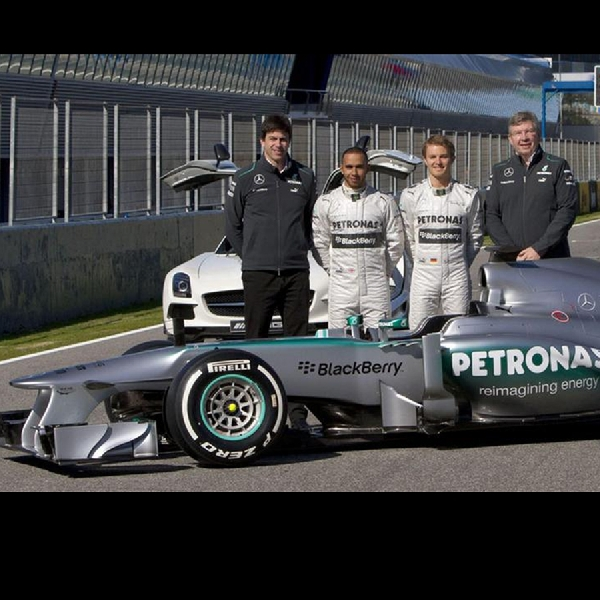 F1: Mercedes Incar Juara Dunia diKlasemen Konstruktor untuk Ketiga Kalinya