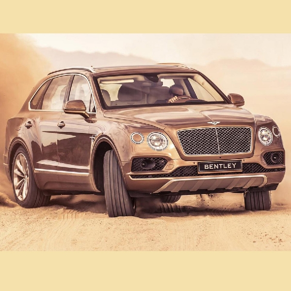 Bentley Ingin Cetak Sejarah di Balapan Pikes Peak 2018