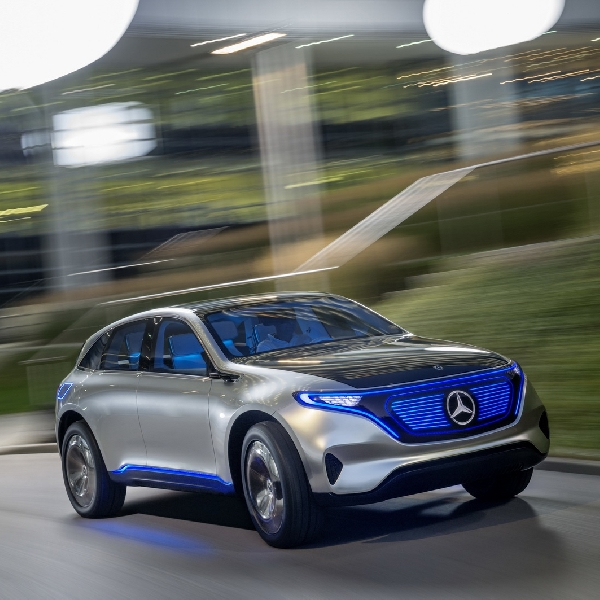 All-Electric Generation EQ Concept dari Mercedes