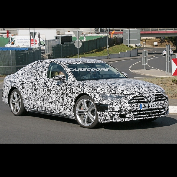 Audi S8 Siap Lawan S63 AMG