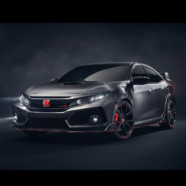 Inilah Wajah Honda Civic Type R Prototype 2018