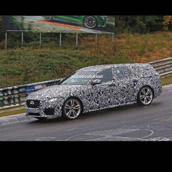 Jaguar XF S Sportbrake tertangkap kamera