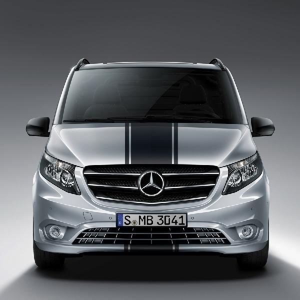 Paket Sport Line Tingkatkan Tampilan Mercedes-Benz Vito