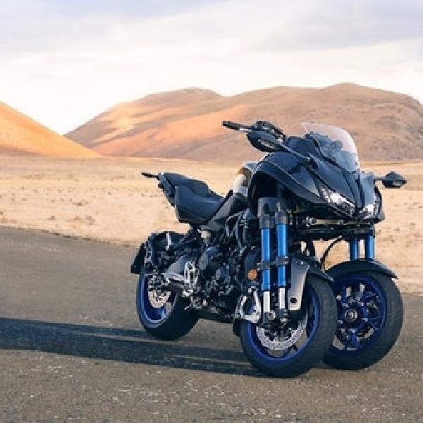 Yamaha Niken Sajikan Kebuasan dan Sensasi Berkendara