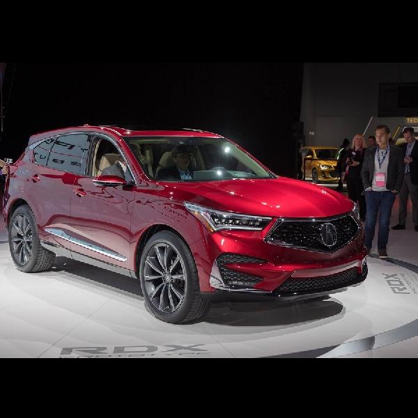 Acura RDX 2019 akan tampil di New York Motor Show 2018