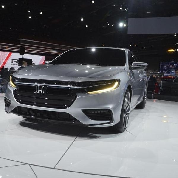 Prototipe New Insight 2019 Sedan Hybrid di Pasar Amerika Serikat