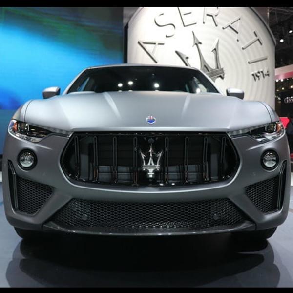 Levante Trofeo 2019, Sosok Penerus SUV Maserati Meluncur di New York