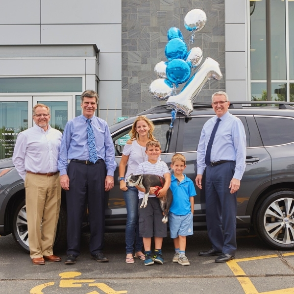 Subaru Rayakan Penjualan Ascent 2019 Pertama