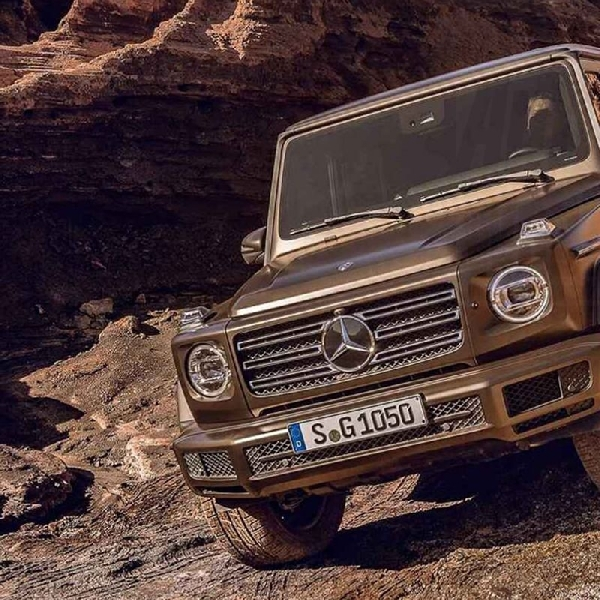 Mercedes-Benz Ungkap Wujud Asli G-Class Terbaru