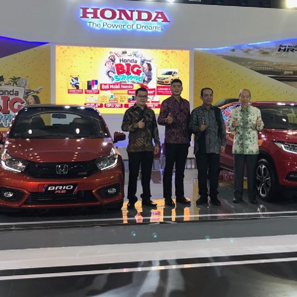 Honda Big Surprise Hadir di GIIAS Medan Auto Show 2018