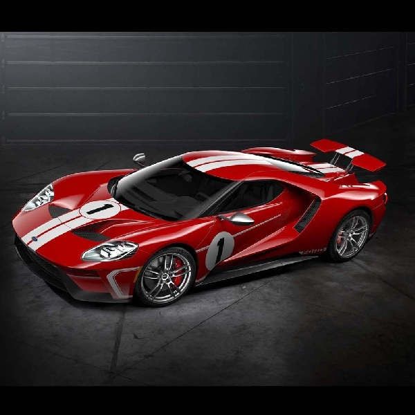Ford GT 67 Heritage Edition Tampil Maksimal