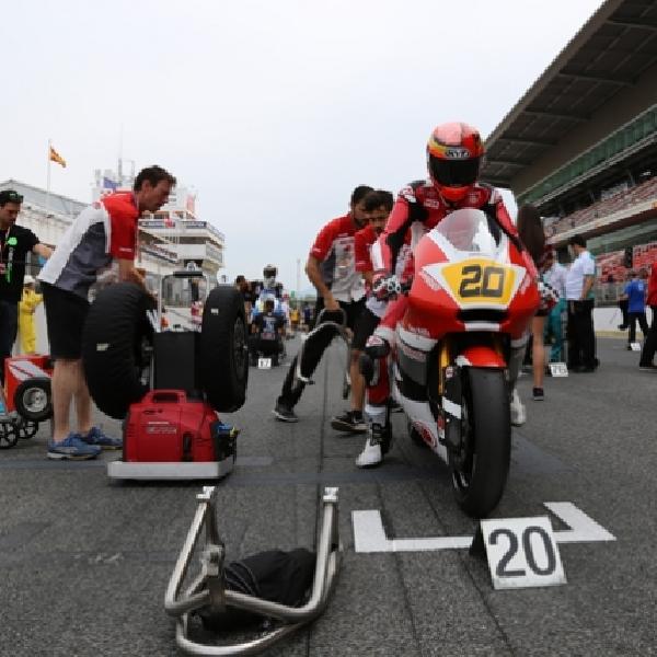 Moto2 FIM CEV: Dimas Ekky Siap Taklukan Sirkuit Albacete
