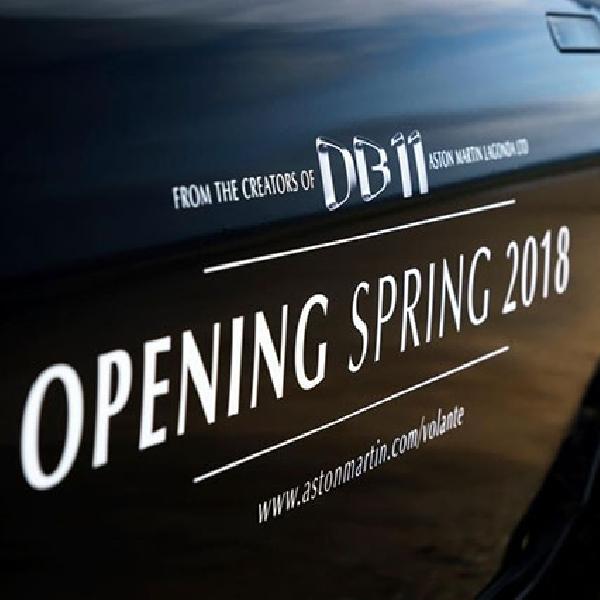 Aston Martin DB11 Volante Roadster Meluncur 2018 Mendatang