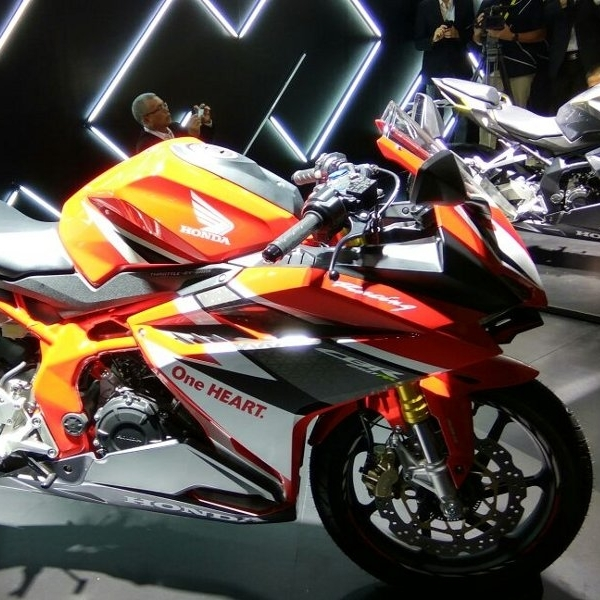 World Premiere All New Honda CBR250RR