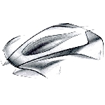 Diluar Proses Hypercar Valkryie, Aston Martin Munculkan Sketsa Alien Hypercar