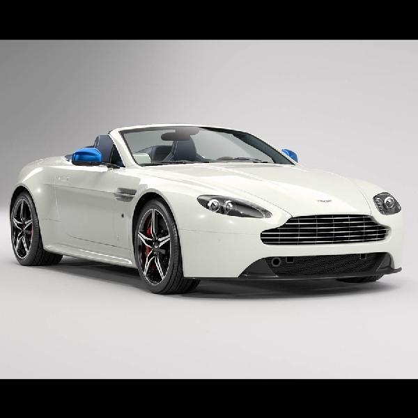 Aston Martin Vantage S Great Britain Edition, Hanya dibuat Lima Unit