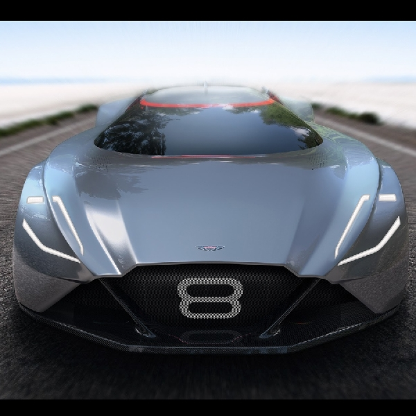 Aston Martin Vision 8 Versi Futuristik V8 Vantage