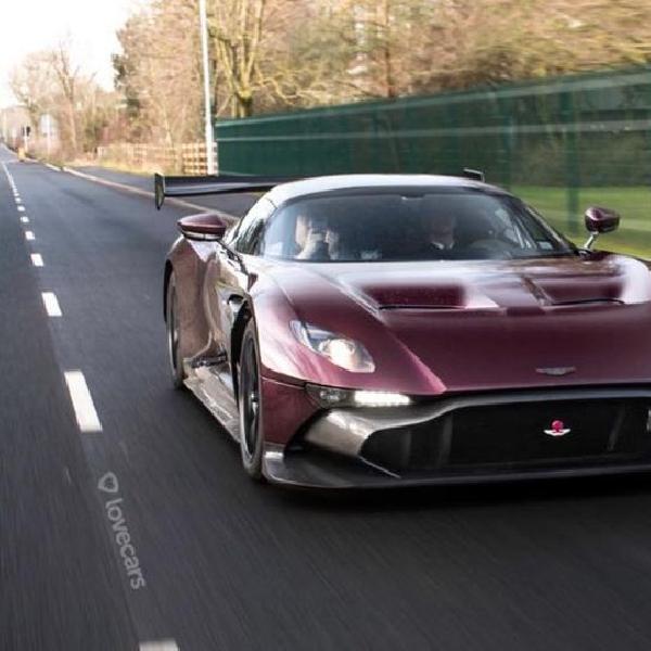 RML Konversi Aston Martin Vulcan dari Track Only ke Mode Jalanan