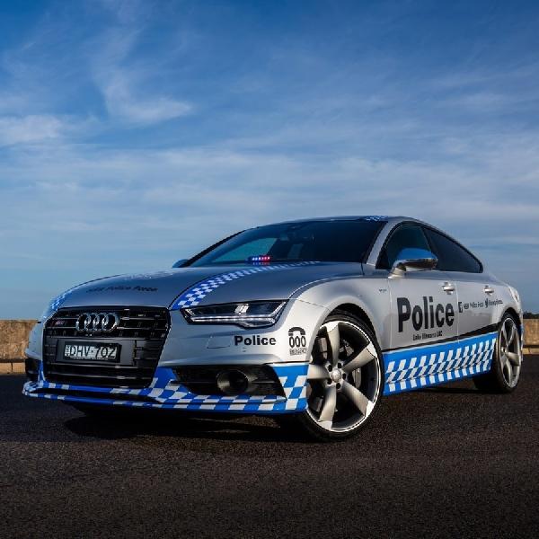 Audi S7 Sportback Dijadikan Kendaraan Patroli di Australia