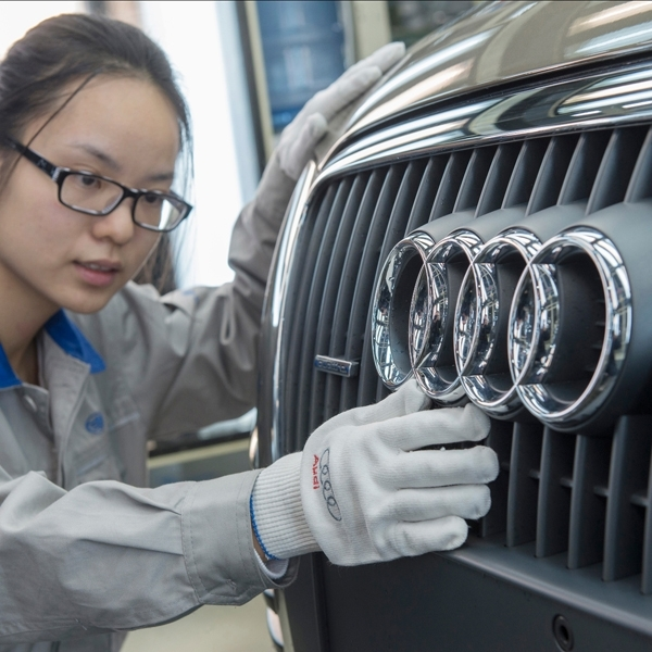 Wanita di Cina Pilih Audi Sebagai Mobil Mewah