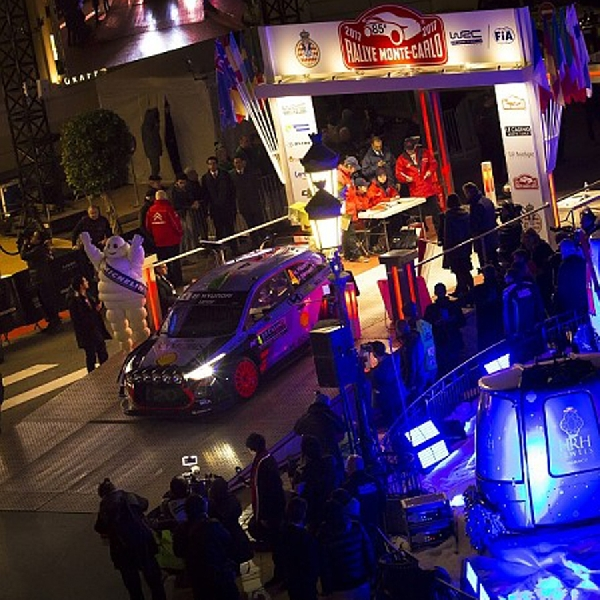 Tim Hyundai WRC 2017: Neuville Catat Waktu Tercepat di SS2 Monte Carlo