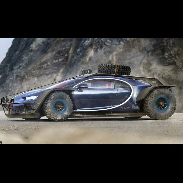 Beginilah Bugatti Chiron jika Tampil di Film Mad Max
