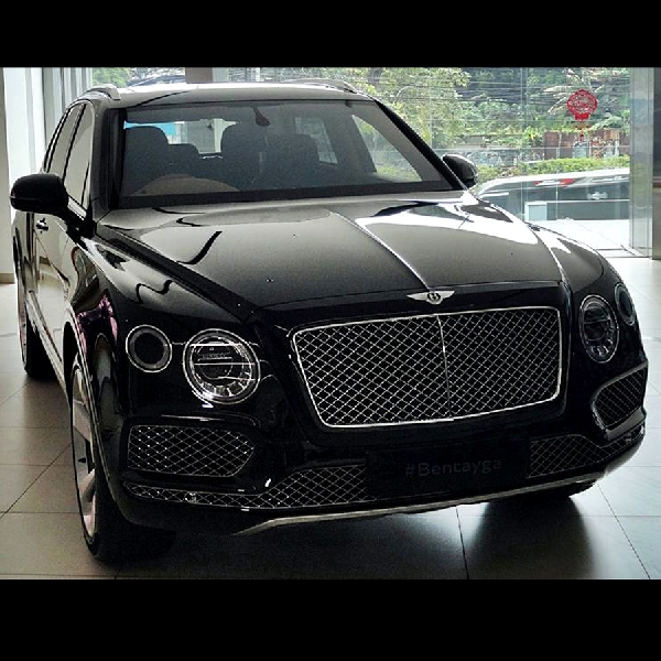 Bentley Bentayga Officially Arrived in Indonesia
