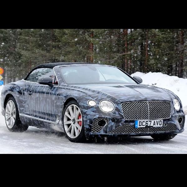 Bentley Menyiapkan Continental GT Baru, Varian Flying Spur