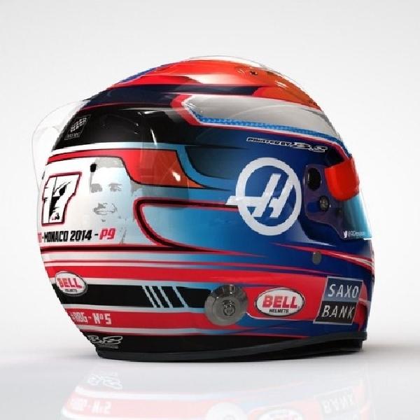 F1: Romain Grosjean Persembahkan Helm Khusus untuk Mendiang Bianci di GP Monaco