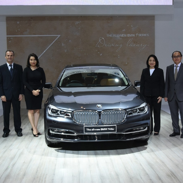 ​BMW Luncurkan All-New BMW 740Li Rakitan Lokal