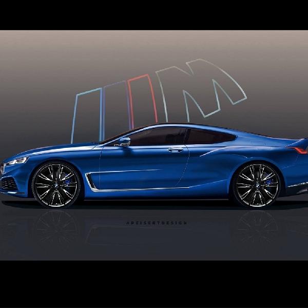 BMW 8 Series Digital Render