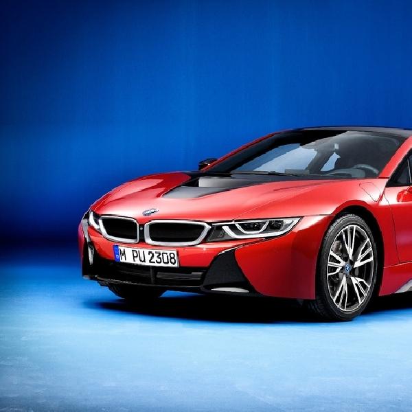 BMW i8 Protonic Red Edition Bakal Dikenalkan Bulan Depan