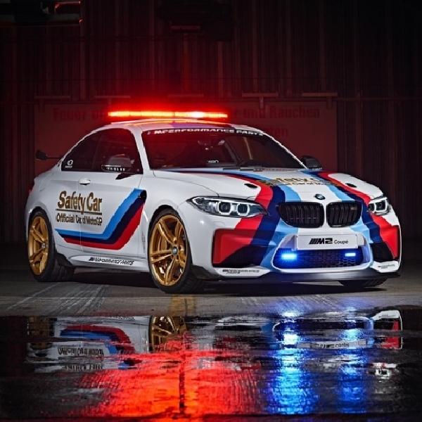 BMW M2 Jadi Kendaraan Safety Car di MotoGP 2016
