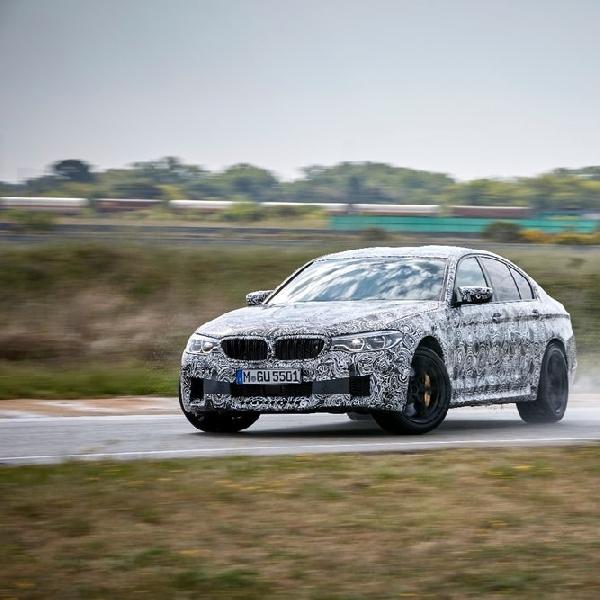 Inilah Driving Mode Terbaru di BMW M5